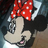 Minnie Mouse Face [Peyote Stitch]