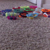 Kandi Doubles, Ladder Cuffs