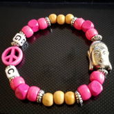 Mixed Media - Peace Kandi Single