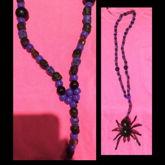 Gothic Spider Necklace