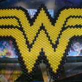 Wonder Woman Logo [Peyote Stitch]