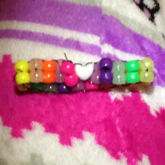 Rainbow Ladder With A White Heart :)