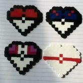 Pokeball Hearts