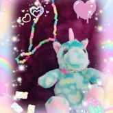 Kawaii Kandi Plush Necklace