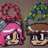 Ramona Flowers & Scott Pilgrim Couples Necklaces