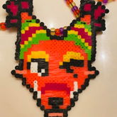 THE QUICK BROWN FOX GOES BEAD MODE