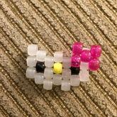 Small Hello Kitty Peyote With Bow