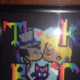 Framed Perler
