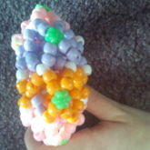 3D Small Flower Kandi Cuff