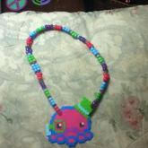 Double Fancy Octopus Necklace