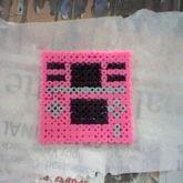 My Pink DS Perler