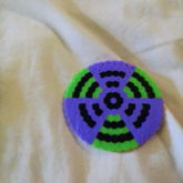 Biohazard Coaster