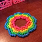 Rainbow Galaxy Cuff
