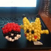3D Pikachu- Pokeball