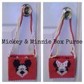Mickey & Minnie Box Purse