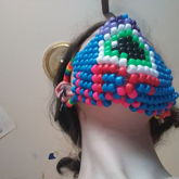 Tied Eyeball Mask Bottom View One