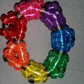 Glitter Rainbow 3D Cuff :3