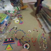 Necklaces I Made Today