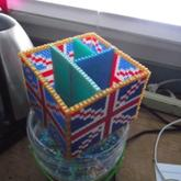 Union Jack Desk Organizer