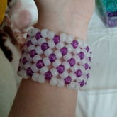 My First X Cuff, Which Will Soon Be My First 3D Cuff
