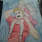Mirio And Eri Coloring Page!