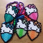 Hello Kitty Wearing Bandana Necklaces