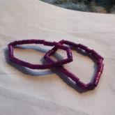 Purple Perlerbead Singels