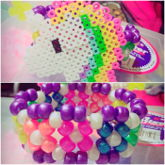 Unicorn Rainbow X Base Cuff
