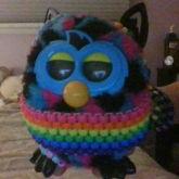 My Stupid Furby Wearing Some Kandi Sdfg