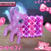 Pink Pony Cuff
