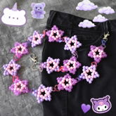 Pastel Kandi Star Pants Chain