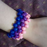 Bad Bi Cuff Because I Didnt Have The Right Colors Really