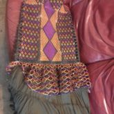 Dress, Semialmostkindacomplete  With Underskirt B