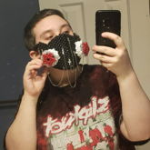 Pentagram Gas Mask!