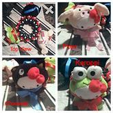 3D Hello Kitty Plush Cuff
