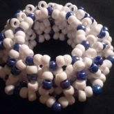 Blue And White Cuff