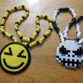 XD Face & Jack Skellington Necklaces