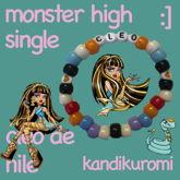 Cleo De Nile Monster High Single