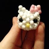 Mini 3D Hello Kitty Head