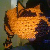 My Finished Biohazard Kandi Hat