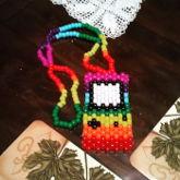 Gameboy necklace.