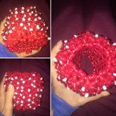 My Epic Strawberry 3D Cuff On Progress