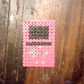 My Gameboy Advanced SP Perler
