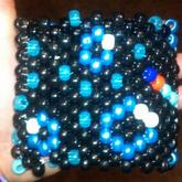 Backside Bubbles Of Electric Snail Cuff