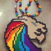 Seven Lions Rainbow Perler