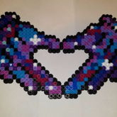 Galaxy Mickey Mouse Hands Perler