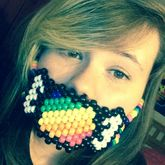 Rainbow Mint Wrapper Mask