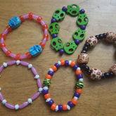 Scarab, Skull, Pig, Wooden Beads Singles
