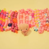 10 Pink Fun Kandi Bracelets With Presents