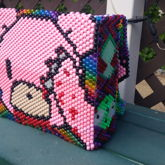 Finished Gloomy Bear/Hello Kitty Mashup Backpack